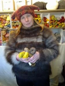 Sanski Tuomaanmarkkinoilla 2013. Kuva Margareta Krogell